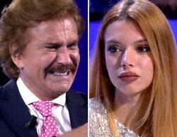 """Bigote Arrocet y Alejandra Rubio, emocionados al verse cara a cara en 'Secret Story': """"La quiero mucho"""""""