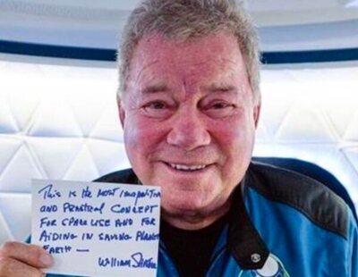 El capitán Kirk de 'Star Trek' se convierte en la persona más mayor en viajar al espacio