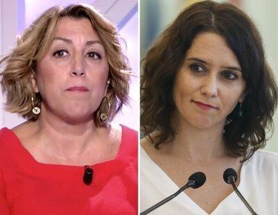 Susana Díaz, muy dura con Isabel Díaz Ayuso por su