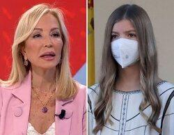 "Carmen Lomana desata su gordofobia contra la infanta Sofía: ""Tiene las piernas gordas"""