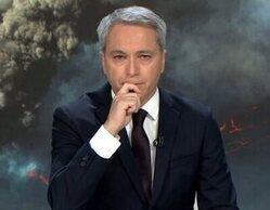 Vicente Vallés se ve obligado a interrumpir 'Antena 3 noticias 2' por un inoportuno ataque de tos