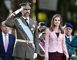 El desfile de la Fiesta Nacional, presidido por primera vez por el príncipe Felipe, marca mínimo histórico