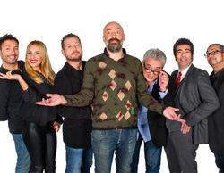 Leo Harlem, Agustín Jiménez, Berta Collado e Iñaki Urrutia, en 'Se hace saber' junto a Goyo Jiménez