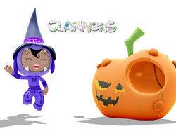 Clan y sus series se suman también a la celebración de Halloween