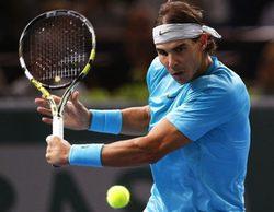 El partido Nadal-Gasquet del Masters 1000 de París se salda con victoria para Teledeporte (5,2%)