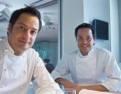Shine Iberia graba 'A cuatro manos' con los chefs Javier y Sergio Torres