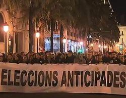 Miles de manifestantes reclaman en las calles de Valencia la vuelta de Canal Nou