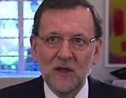 Mariano Rajoy celebra el día de la Constitución con un mensaje televisado sin mirar a cámara