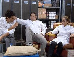 Miguel Cobo, Antonio Arrabal y Begoña Rodrigo, finalistas de 'Top Chef'