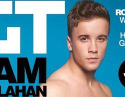 Sam Callahan celebra el final de 'The X Factor' posando desnudo para una revista gay