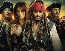 """El estreno de """"Piratas del Caribe: en mareas misteriosas"""" (25%) seduce a más de 4,5 millones"""