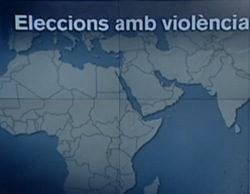 Un mapa de los informativos de TV3 muestra una Catalunya independiente