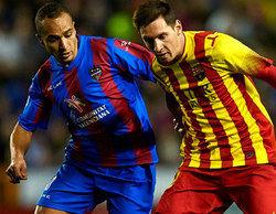El Levante-Barcelona de la Copa del Rey se dispara y reúne a 4,7 millones en Antena 3 (22,8%)