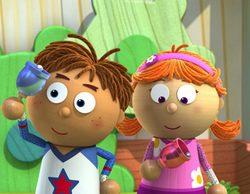 Así son Tommy y Tallulah, los protagonistas de 'Tickety Toc', la serie preescolar que Clan estrena este lunes
