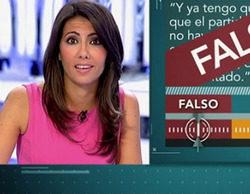 'El objetivo de Ana Pastor' (9%) vuelve a superar a 'Negocios al límite' (6,7%)