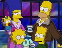 Fox utiliza 'Los Simpson' para anunciar la Super Bowl