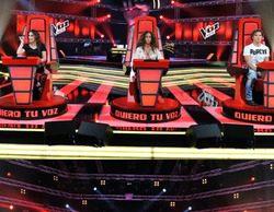 'La Voz Kids' arrasa en su debut (26,7%) y logra un espectacular 40,2% entre los niños