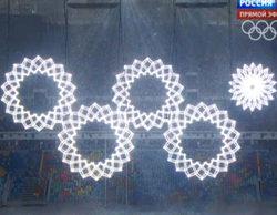 La televisión rusa manipuló imágenes de la inauguración de las Olimpiadas de Sochi para ocultar el fallo de los aros