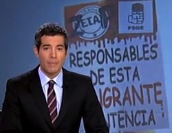 Leopoldo González-Echenique se desvincula de las imágenes que criticaban al PSOE y a Zapatero en el 'Telediario'