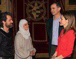 Los Príncipes de Asturias asisten al rodaje de 'Isabel'