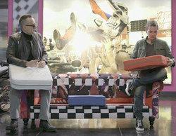 Gran éxito de la subasta por los sofás de Jorge Lorenzo y José Luis Rodríguez Zapatero en 'Viajando con Chester'