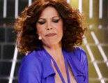 """Toñi Salazar se hace un """"Sabrina"""" y enseña un pezón en su actuación en 'Tu cara me suena' junto a Los Chunguitos"""