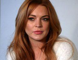Lindsay Lohan se viste de novia para su cameo en '2 Broke Girls'