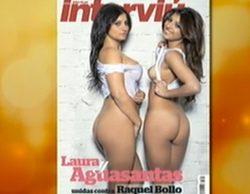 Aguasantas y su hermana Laura se desnudan en Interviú