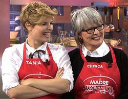 Tania Llasera y Álvaro de la Lama se enfrentan en la edición VIP de 'Mi madre cocina mejor que la tuya'