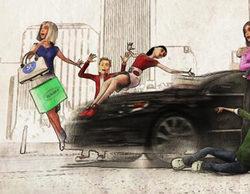 Mediaset compara al Gobierno con un coche que atropella a la familia Mediaset y mata a La Siete y Nueve