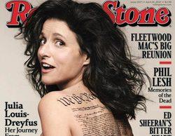 Julia Louis-Dreyfus ('Veep') posa desnuda para Rolling Stone