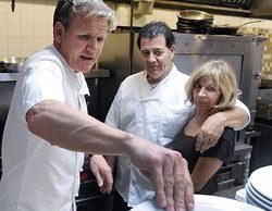 'Kitchen Nightmares' empeora el dato obtenido en su estreno la semana pasada