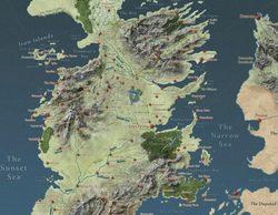 Un fan de 'Juego de Tronos' elabora un mapa interactivo con las localizaciones de la serie al estilo de Google Maps