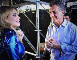 El alcalde de Buenos Aires aparece en una polémica fotografía junto a la protagonista de 'Violetta'
