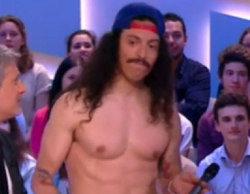 Los representantes de Francia en Eurovisión se desnudan completamente tras quedar últimos