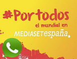 Mediaset y WhatsApp se alían para crear la mayor lista de difusión de cara al Mundial de Fútbol de Brasil