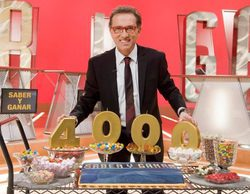 'Saber y ganar' celebra sus 4.000 programas con tres emisiones especiales