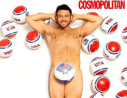 El presentador de 'Crónicas carnívoras', Adam Richman, posa desnudo tras perder más de 30 kilos