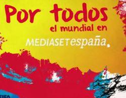 Mediaset España se vuelca con el inicio del Mundial con más de 6 horas en directo