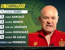 Alfredo Duro revoluciona las redes sociales por su comportamiento en 'El chiringuito del Mundial'