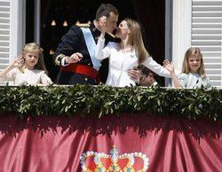 La proclamación de Felipe VI arrasa en La 1 con casi un 33% y más de 2 millones de espectadores