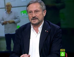 'El intermedio' anota un gran 14,2% con la visita de Willy Meyer e iguala su segundo mejor dato histórico