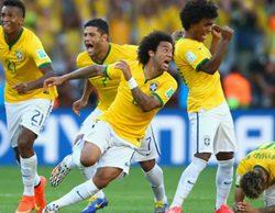 Un 56% de la audiencia sigue en Telecinco los penaltis entre Brasil-Chile del Mundial