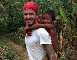 """David Beckham: """"Uno de los más viejos de la tribu Yanomami me preguntó: '¿Y tú qué cazas?'"""""""