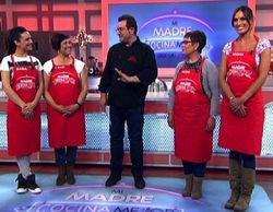 Verónica Hidalgo y La Dama concursan en una nueva entrega VIP de 'Mi madre cocina mejor que la tuya'