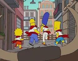 'Los Simpson' corren los Sanfermines el próximo lunes en Antena 3