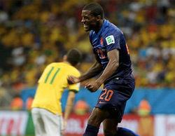 El Brasil-Holanda supera la barrera de los 4,6 millones (37,1%) en Telecinco
