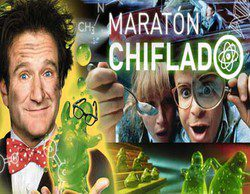 """Buenos datos para el """"Maratón Chiflado"""" de Paramount Channel en la tarde (2,4%, 2,7%) y prime time (2,3% y 1,5%)"""