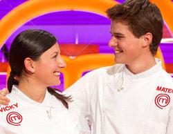 Vicky y Mateo se juegan este miércoles la victoria en la final de la segunda edición de 'MasterChef'