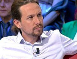 """RTVE """"coloca"""" con éxito a uno de sus alumnos estrella: Pablo Iglesias"""